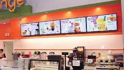 moniteur lcd - affichage en milieu commercial pour menus et présentations