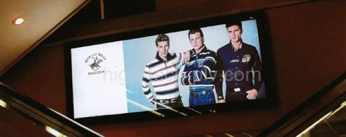 cadre led - caisson lumineux à rétro-éclairage pour affichage publicitaire