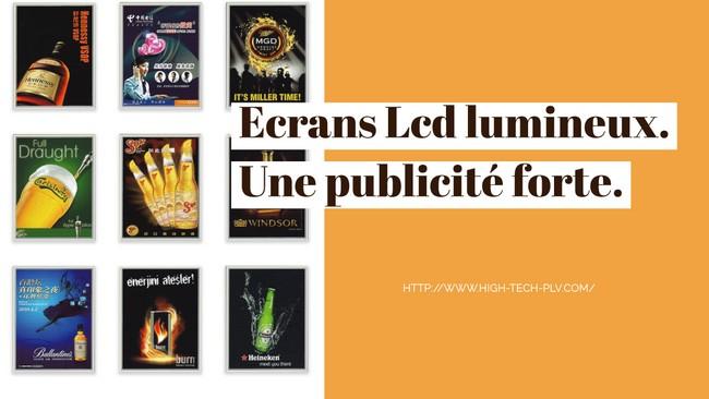 caisson lumineux led - votre affichage publicitaire lumineux